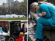 New York, stravična simbolika: Teniski Corona Park postaje bolnica