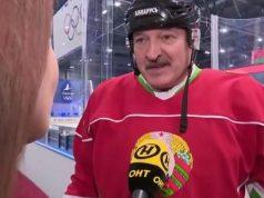 Koronavirus: Bjeloruski predsjednik zaigrao hokej: Vidite li virus u zraku?