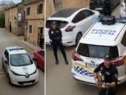 Dođe policija i napravi spontani koncert za građane u karanteni