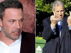 Liječnik Bena Afflecka pokazao paparazzima oba srednja prsta dok je nosio kaput prepun dlaka