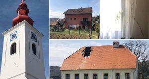 U epicentru potresa nema kuće bez oštećenja, popucali zidovi