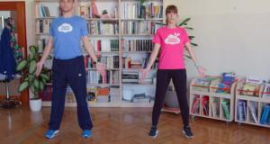 Vježbajte u izolaciji uz posebno osmišljene vježbe za obitelj