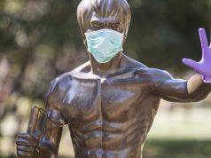 U Mostaru je Bruce Lee postao simbol borbe protiv Covida-19