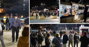 Korona party u Gružu: Došli po ribu pa zaboravili na distancu