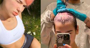 Dua Lipa dobila je novu boju, a 'frizer'je njezin dečko Anwar