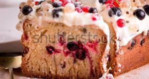 Spužvasti kolač s Ricottom i svježim ili smrznutim voćem