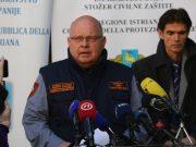 POČELE OBJAVE ŽUPANIJSKIH STOŽERA CIVILNE ZAŠTITE Nakon 48 sati bez ijednog oboljelog, u Istri potvrđena dva nova slučaja zaraze koronavirusom
