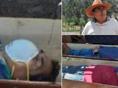 Htio izbjeći uhićenje: Pijan se legao se u lijes i pravio mrtav!