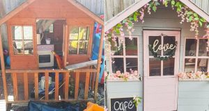 Super mama ostavu za igračke preuredila u mini kafić za kćer