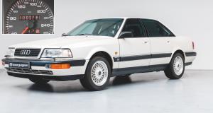 FOTO: PRODAJE SE AUDI V8 IZ 1990. S TEK 218 KILOMETARA NA SATU! Cijena bi mnoge mogla odvratiti, no riječ je o prvoj Audijevoj luksuznoj limuzini ikad