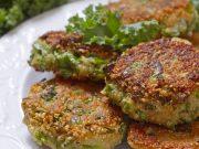 Hrskave polpete od kelja i kvinoje s pesto umakom