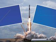 FOTO: 'OBLACI SU SE RASTVORILI U PRAVOM TRENUTKU' Amaterska astronomkinja uspjela je fotoaparatom snimiti letjelicu SpaceX-a na nebu iznad Zadra