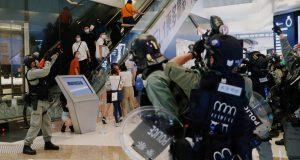 Prosvjedi u šoping centru: Više od 200 uhićenih u Hong Kongu