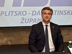 'HRVATSKA JE POBIJEDILA COVID-19, OVA VLADA JE POBIJEDILA COVID-19!' Premijer nakon stranačkog sastanka u Splitu govorio o koronavirusu