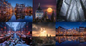 Dvije godine snimao timelapse fotografije Amsterdama, video i fotke su presavršeni