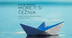 Glazbeni zavod je organizirao online klapski koncert u utorak
