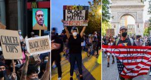 FOTO: DESECI TISUĆA LJUDI PROTIV RASIZMA I POLICIJSKE BRUTALNOSTI Održani veliki prosvjedi protiv rasizma u Washingtonu i drugim gradovima