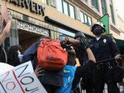 Kamion cisterna se zabio u prosvjednike u Minneapolisu