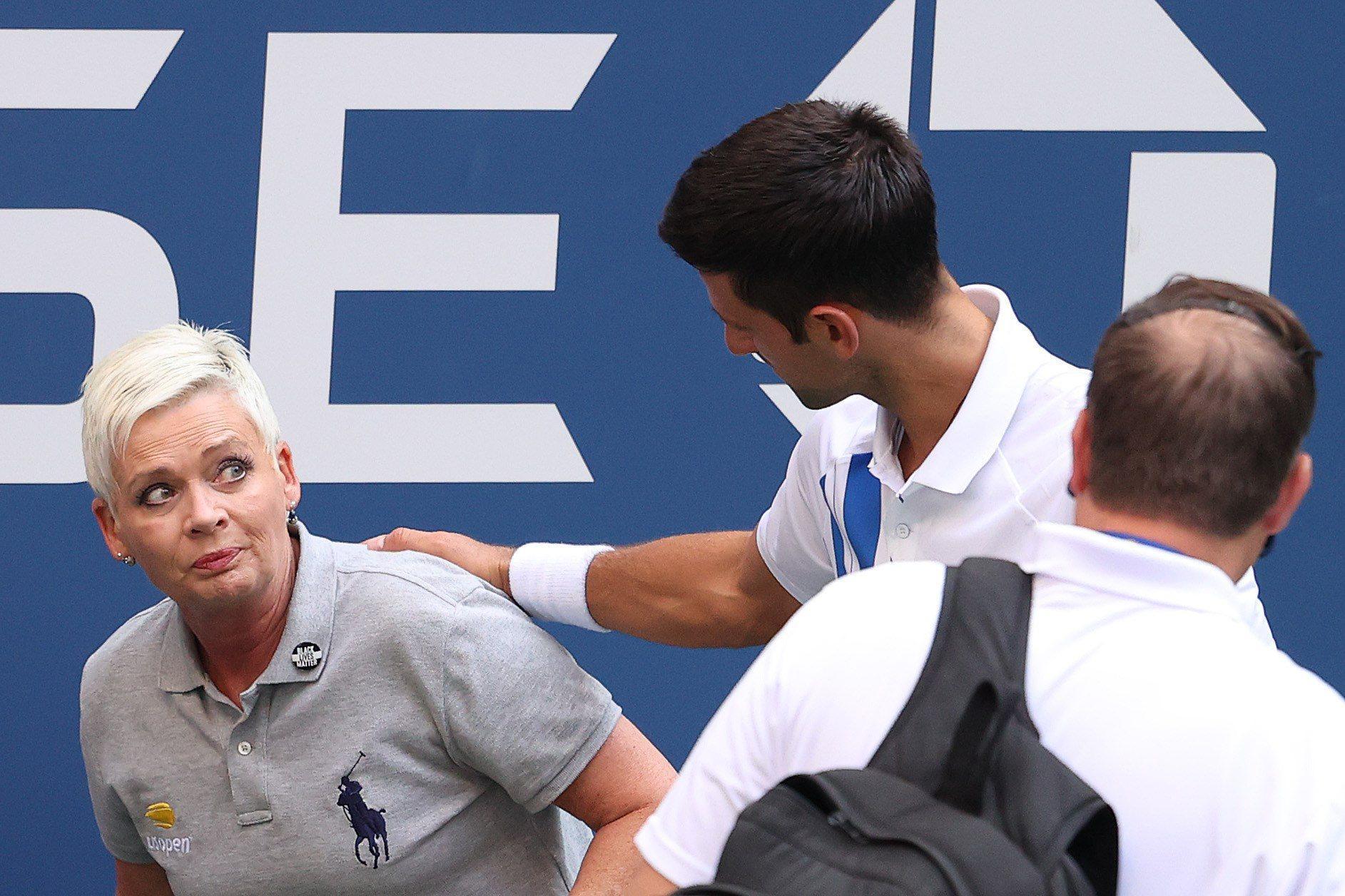 Novak Đoković je diskvalificiran