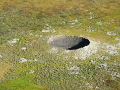 Otkrivena tajna golemih kratera u Sibiru
