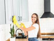Kako očistiti masne kuhinjske ormariće?