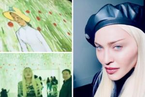 Madonna očarana izložbom Van Gogha: Nevjerojatno iskustvo je uroniti u čaroliju njegovih djela