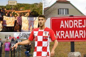 U češkom selu Kramy gleda se svaka Kramarićeva utakmica. Dobio je svoju ulicu i fan klub