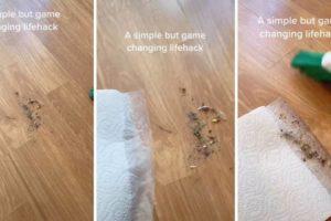 Genijalan trik kako pomesti svu prljavštinu s poda bez ostataka