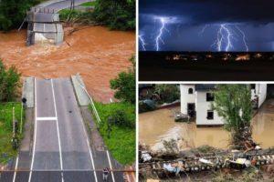Ista ciklona koja je donijela smrtonosne poplave Njemačkoj za vikend će biti iznad Hrvatske