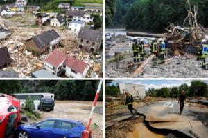 Kaotično stanje u Njemačkoj i Belgiji: Najmanje 42 mrtvih, na desetke nestalih u poplavama