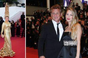 Kosa u vis: Glumica je prkosila gravitaciji, a Sean Penn doveo lijepu kći s kojom je snimio film