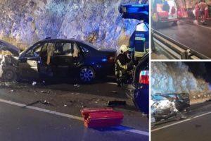 Krš i lom kod Dubrovnika. Troje ozlijeđenih u sudaru dva auta: 'Zabio se u auto ispred mene'