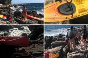 Turistkinje u kajaku borile se s valovima: 'Koja budala im je po ovom moru iznajmila kajake?'
