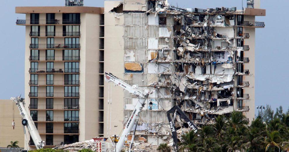 U ruševinama zgrade na Floridi pronađena još četiri tijela. Evakuirana susjedna zgrada