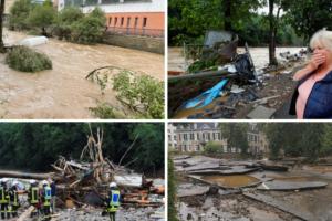 VIDEO Hrvat o poplavama u Njemačkoj: 'Grozno je, ostali smo bez struje, a imamo bebu'