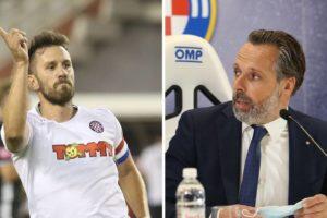 Caktaš: Jakobušić me razočarao, puno je tu bilo laži! Nije istina da nisam htio ostati u Hajduku
