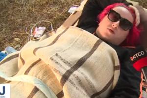 Dubravka iz Podgorice oborila rekord u ležanju, izdržala je 117 sati: I duže bih da nije bilo kiše