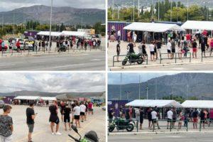 Gužva na testiranju, očekuje se 20 tisuća navijača Hajduka protiv Rijeke
