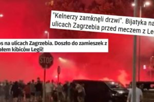 Poljski mediji se zgražaju: Kaos na ulicama Zagreba! Legionare je šokirao broj Bad Blue Boysa