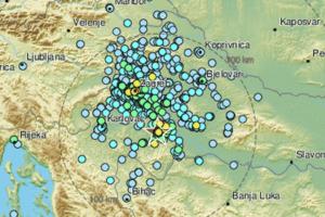 Potres jačine 4,7 po Richteru zatresao središnju Hrvatsku: 'Dignuo nas je iz kreveta...'