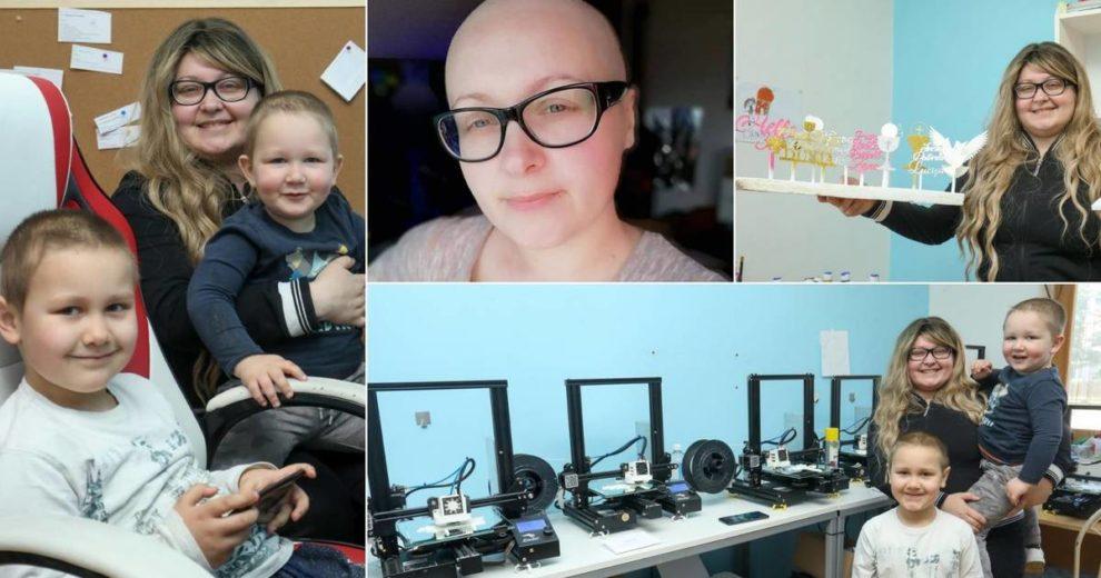Vukovarku s dvoje male djece neizlječiva bolest nije slomila: 'Ovaj rak se na krivu namjerio'