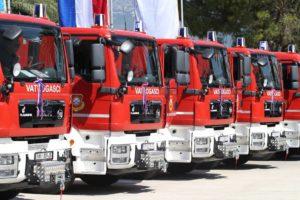 Božinović: Vatrogasci su glavna snaga civilne zaštite, radimo sve podizanje standarda