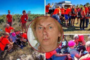 HGSS objavio kako su spašavali ženu na Krku: 'Bila je iscprljena i dezorijentirana, ozlijeđena'