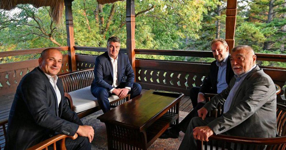 Milanović s Izetbegovićem razgovarao o odnosima dviju država te Bošnjaka i Hrvata