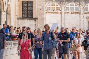 Krajem rujna Dubrovnik je i dalje pun turista kao usred ljeta