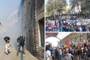 Francuska: Preko 40 tisuća prosvjednika protiv covid potvrda, petero privedenih