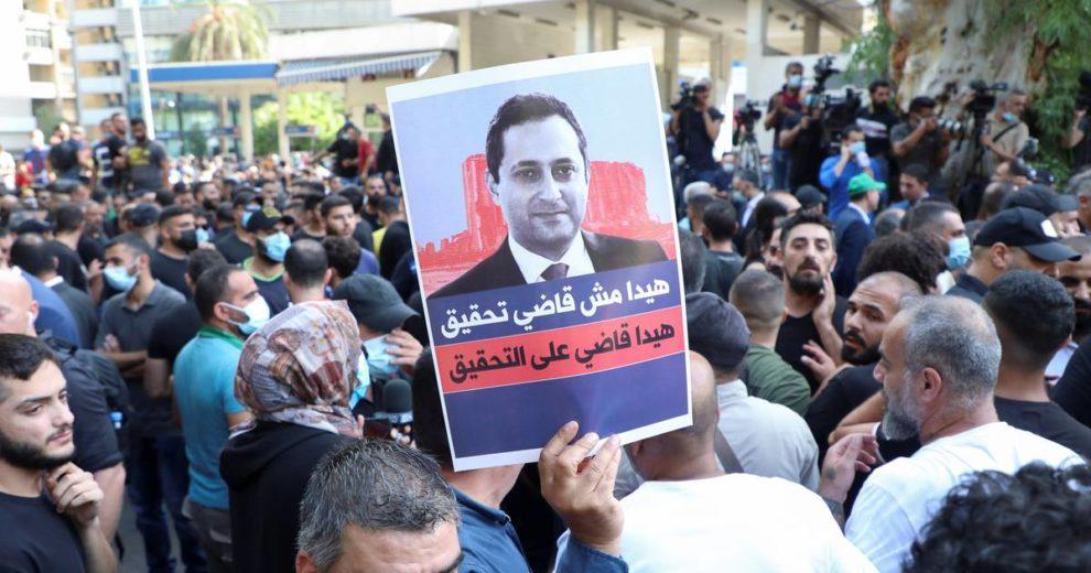 Najmanje troje mrtvih u Bejrutu na prosvjedu protiv suca koji istražuje eksploziju kemikalija