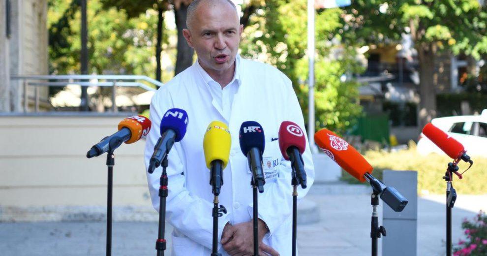 Ravnatelj Vinogradske: COVID-odjel se puni, razmišljamo da otvorimo još jedan