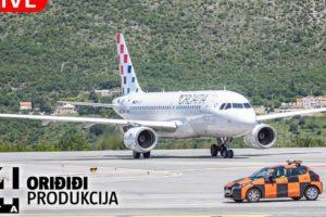 UŽIVO IZ AVIONA Putujemo prema Dubrovniku: Ovako izgleda pogled iz kokpita pilota
