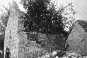 Kod Sinja je 1898. godine bio jedan od najjačih potresa u Hrvatskoj. Poginulo je 6 ljudi